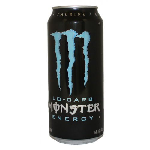 MONSTER CAN 16oz BLUE 24CT