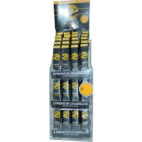 AL CAPONE FILTER CIG 2PK TOWER SWEET COGNAC